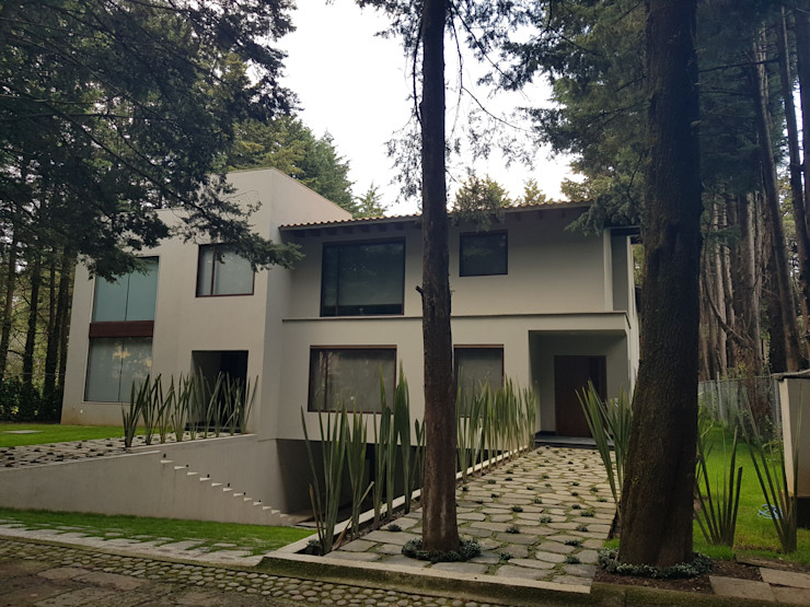 Merkalum Wooden windows Aluminium/Zinc Wood effect
