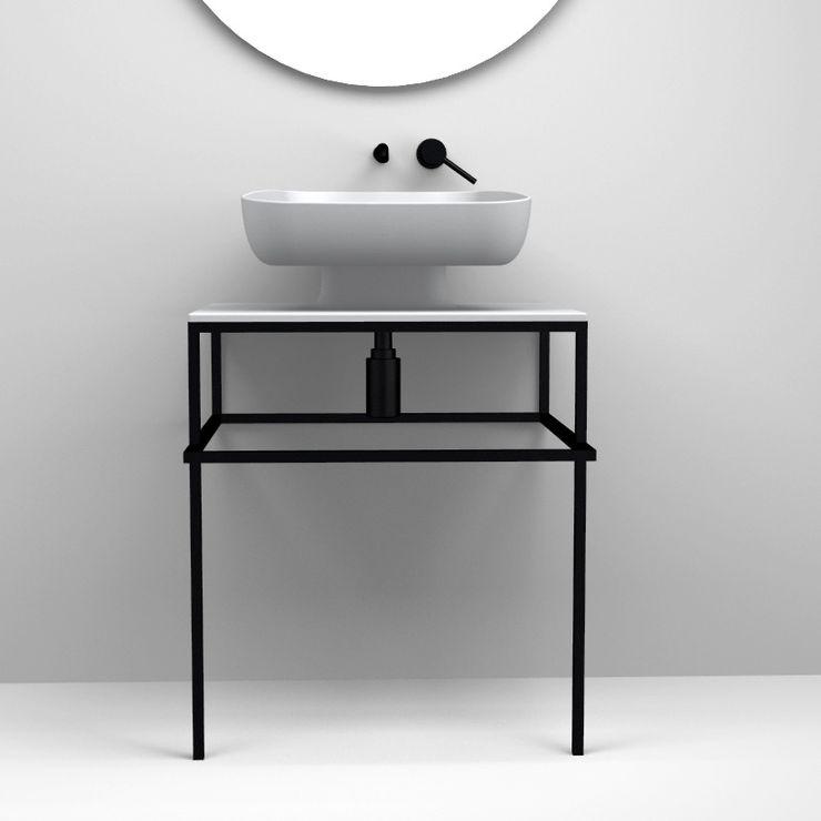 eto' Ванна кімната Керамічні Сірий