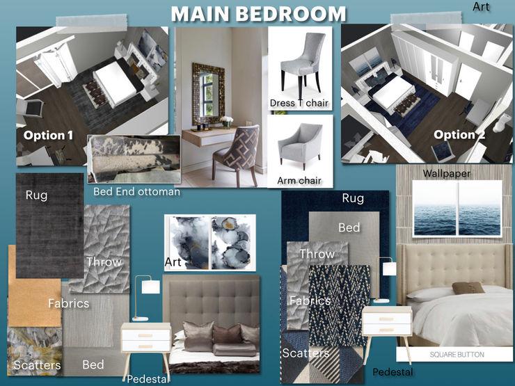 Full Home Renovation During Lockdown CS DESIGN Modern style bedroom
