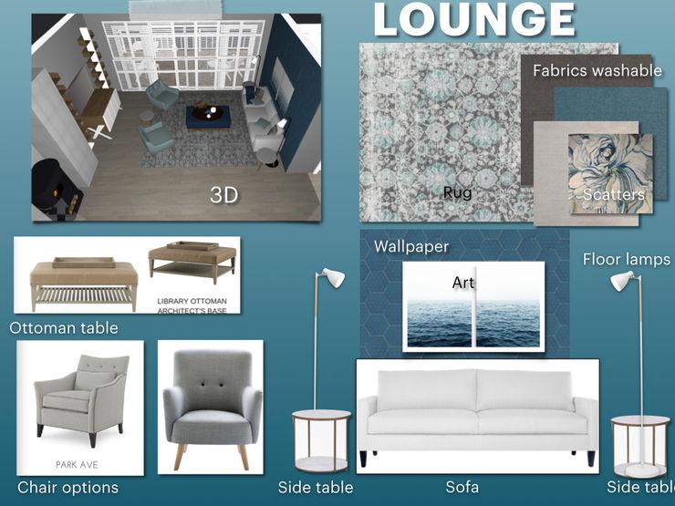 Full Home Renovation During Lockdown CS DESIGN Modern living room