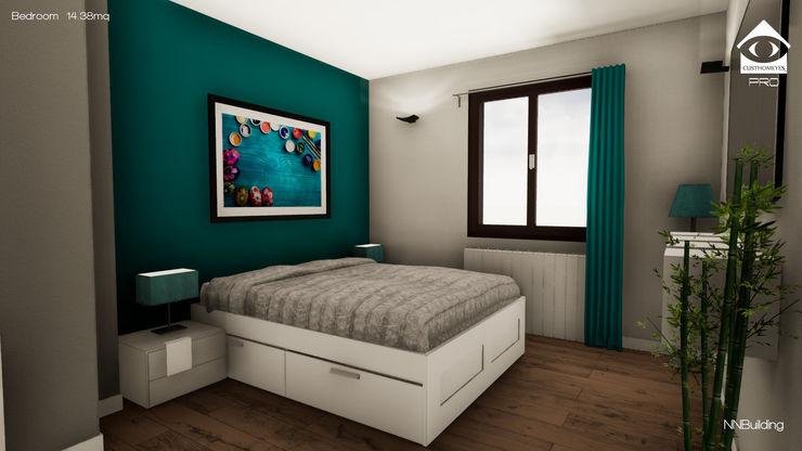 Camera da letto NNBuilding Camera da letto in stile classico