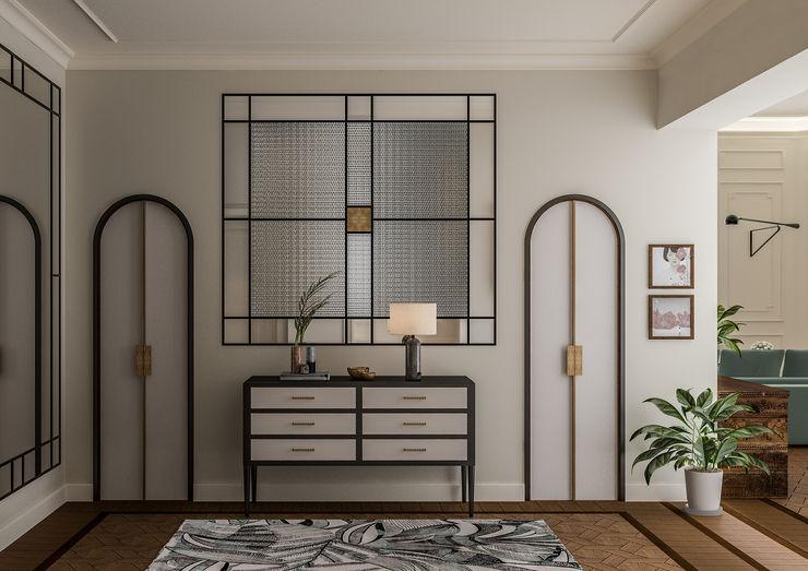 Appartamento in Milano, Magenta - 180mq Bongio Valentina Ingresso, Corridoio & Scale in stile coloniale
