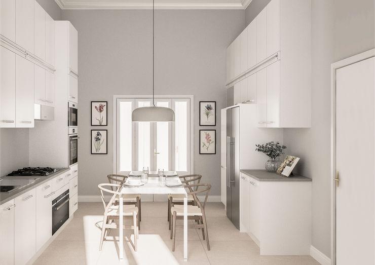 Appartamento in Milano, Magenta - Real Estate - 210mq Bongio Valentina Cucina coloniale