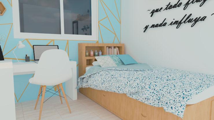 Recámara 2 Studio Light Point Dormitorios pequeños