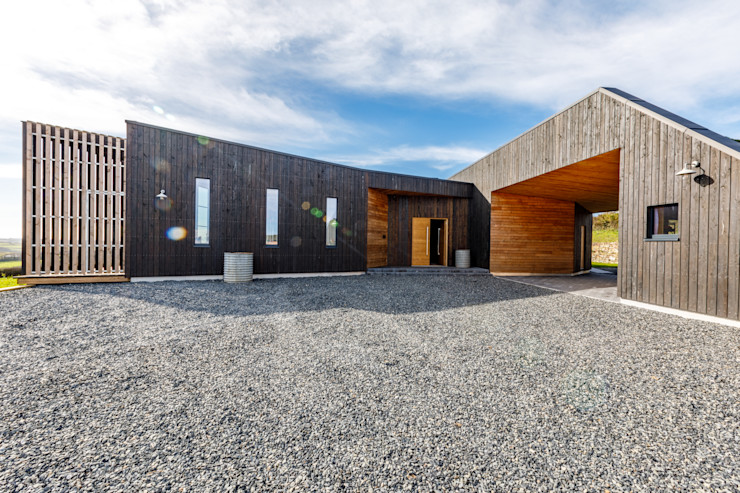 Sustainable New Build Home Arco2 Architecture Ltd Wooden houses