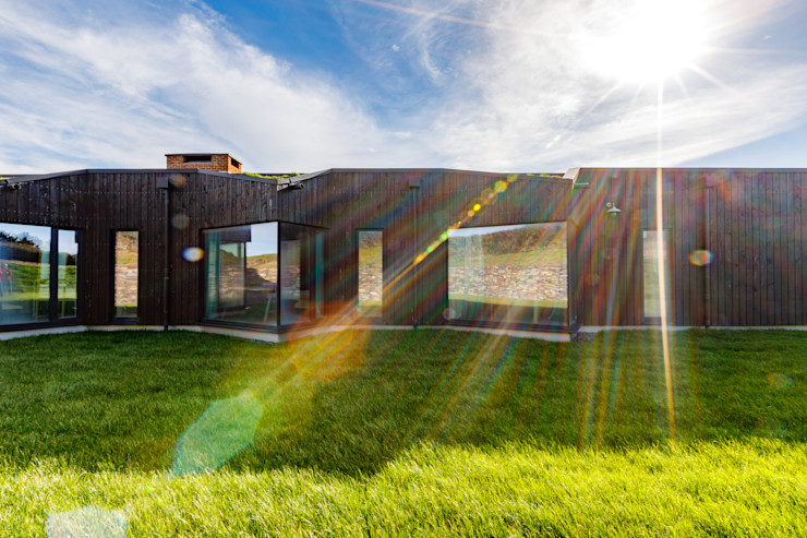 Design and Build New Home in Cornwall Arco2 Architecture Ltd Wooden houses