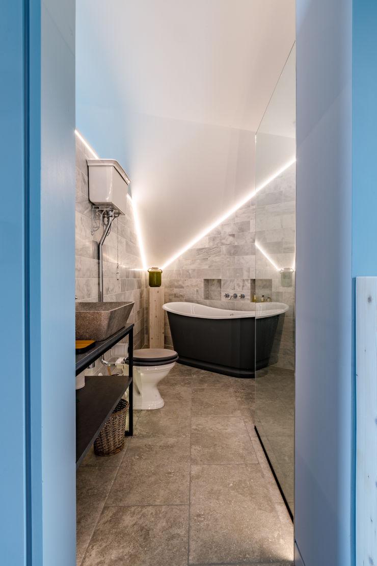 Modern Vintage Style Bathroom Arco2 Architecture Ltd Modern bathroom