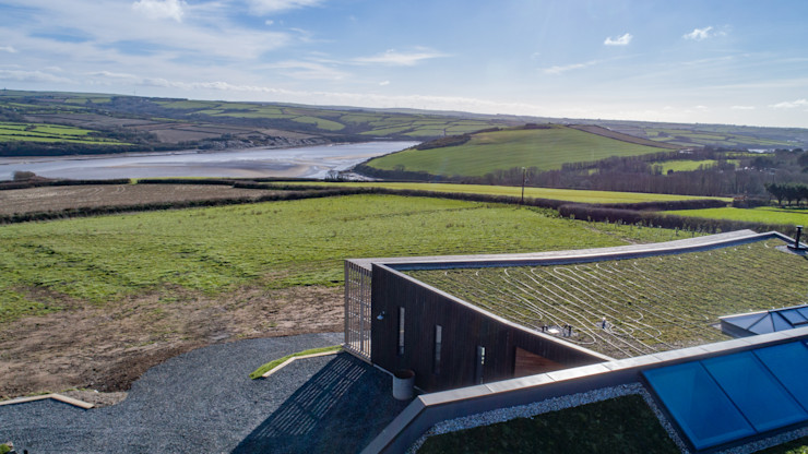 Sustainable Architectural project Cornwall Arco2 Architecture Ltd Modern houses
