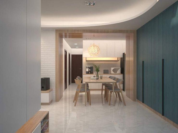 麥斯迪設計 Country style dining room