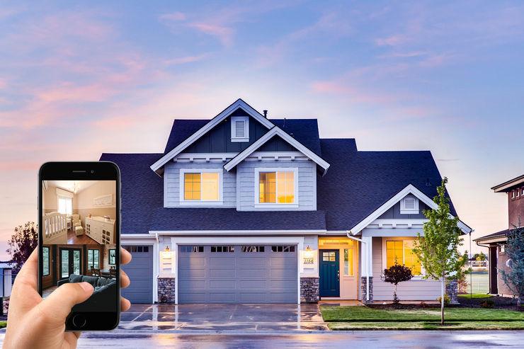 Smart home en Fraccionamiento Santa Anita Web Tangible Casas pequeñas