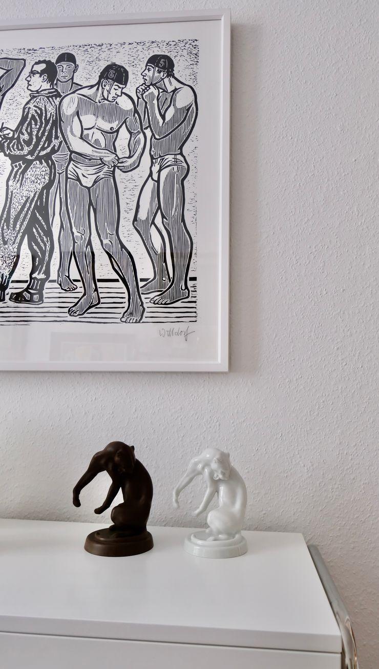 Privatwohnung Innenarchitekt Berlin MARKUS HILZINGER Klassische Wohnzimmer