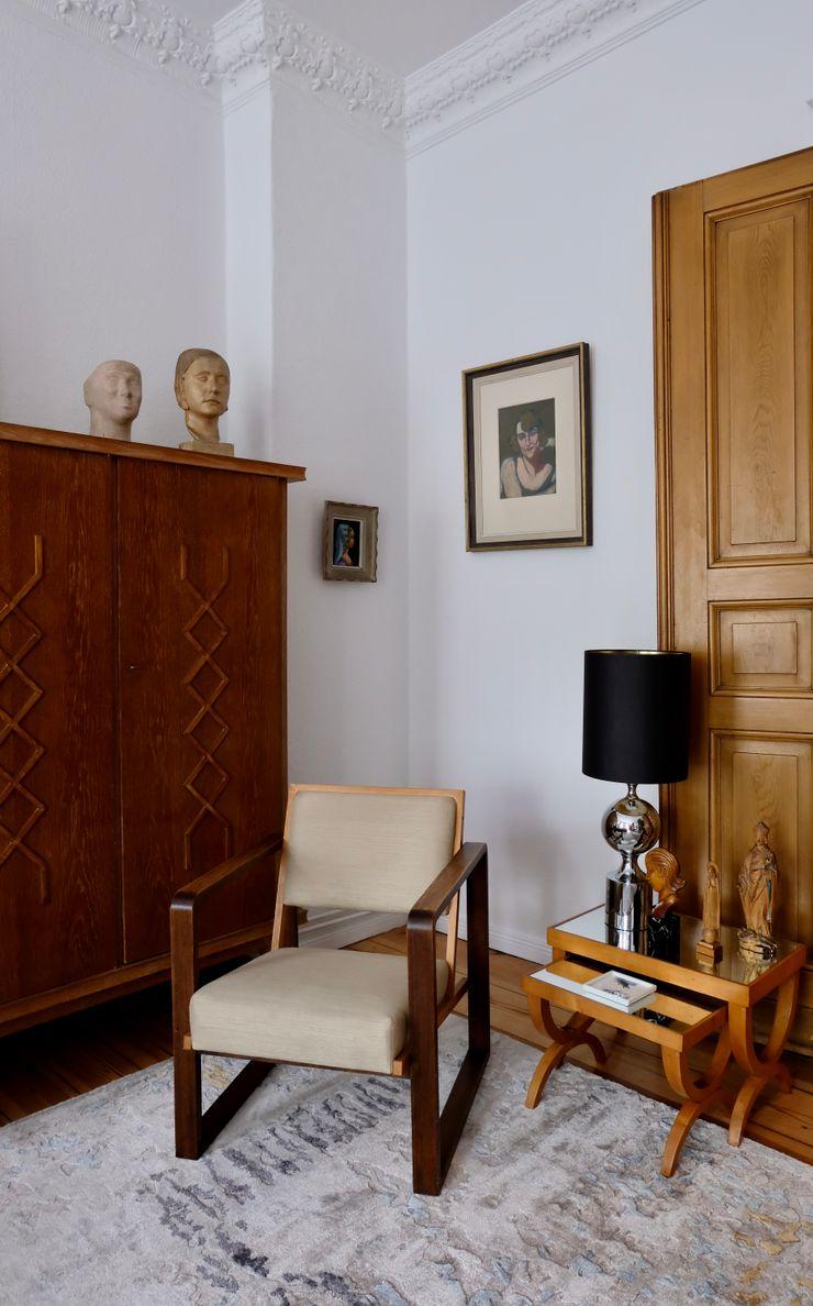 Privatwohnung Innenarchitekt Berlin MARKUS HILZINGER Klassische Arbeitszimmer