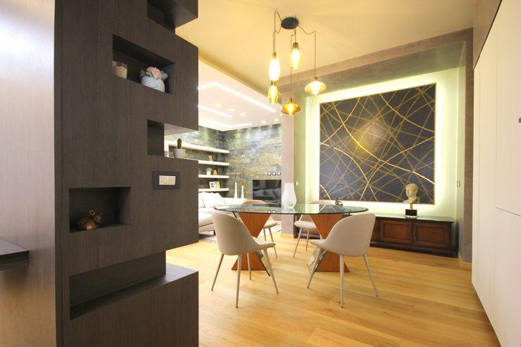 Studio Ferlenda Їдальня Плитки Сірий