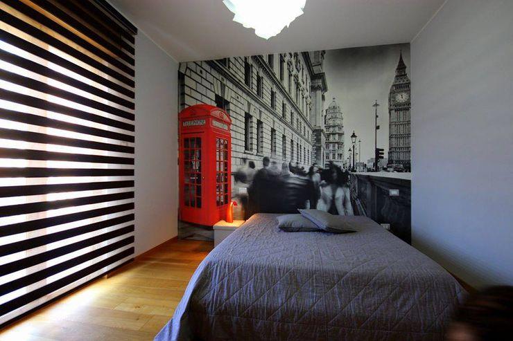 Studio Ferlenda Спальня для дівчаток Сірий