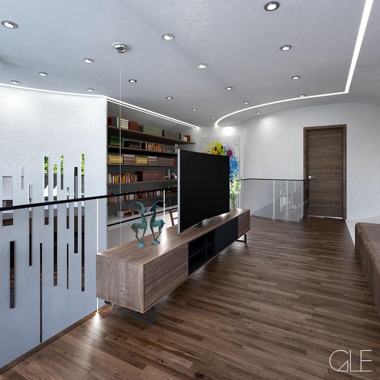 GLE Arquitectura Modern Living Room