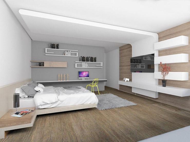 emARTquitectura Arte y Diseño Modern Bedroom