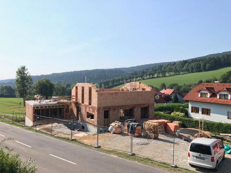 Ziegelhäuser werden für Generationen gebaut archipur Architekten aus Wien Einfamilienhaus Ziegel
