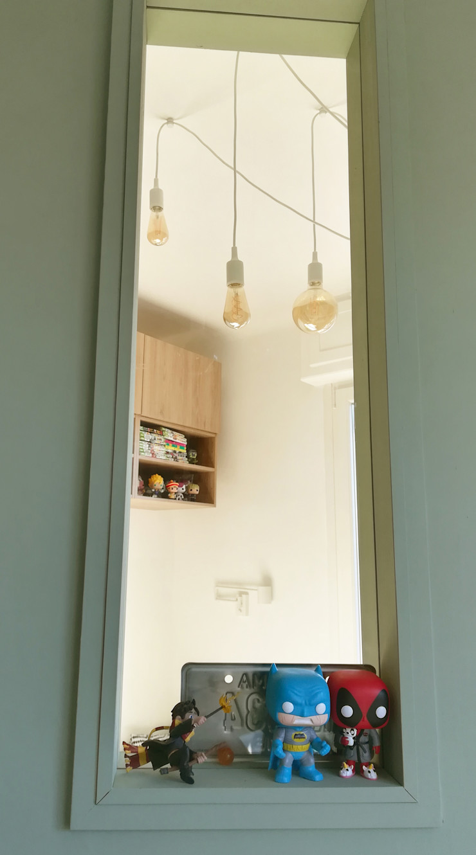 VUE SUR FENETRES Lionel CERTIER - Architecture d'intérieur Chambre d'enfant moderne