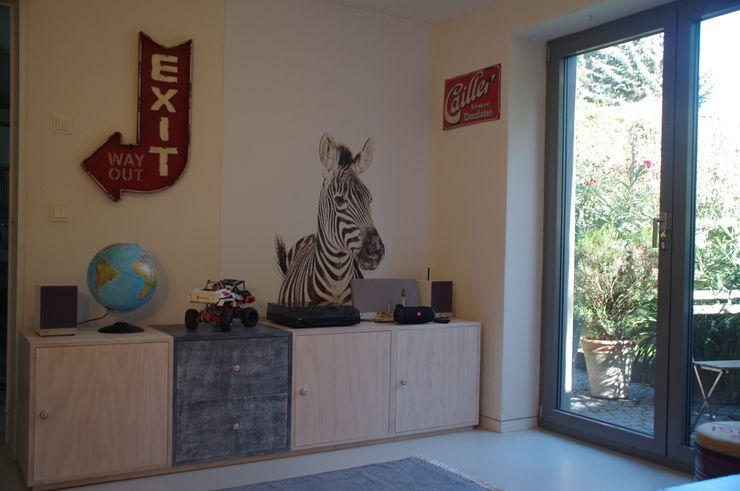 Kellerumbau zu Kinderzimmer Kempfer- Raumkonzepte Moderne Kinderzimmer