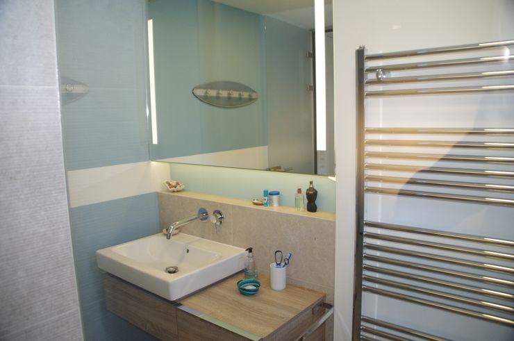 Kellerumbau zu Kinderbad Kempfer- Raumkonzepte Moderne Badezimmer
