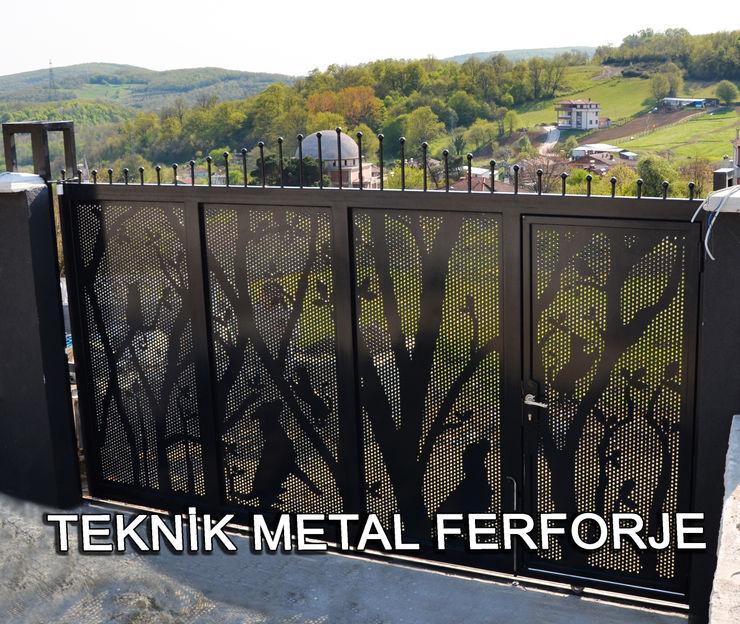 Teknik Metal Ferforje Modern garden