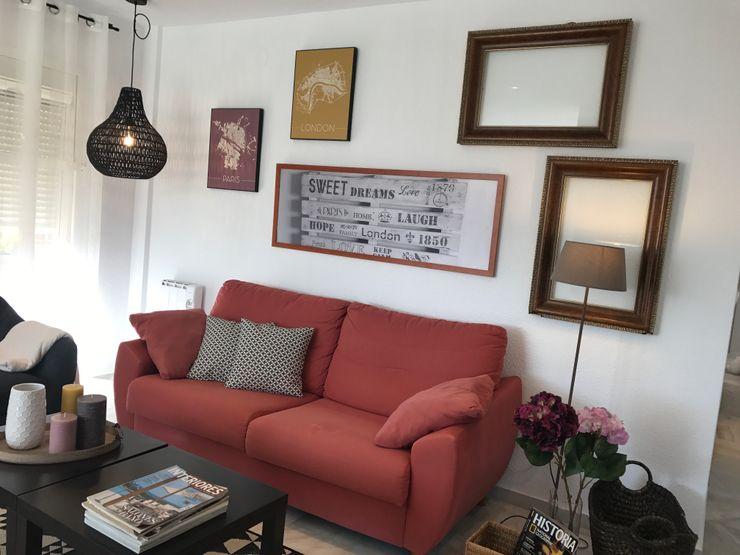 Restyling - Decoración salón A interiorismo by Maria Andes