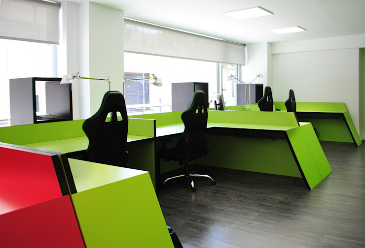 MANUEL TORRES DESIGN Office spaces & stores