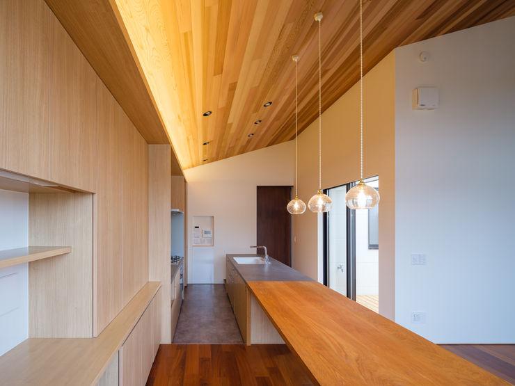 明大前の賃貸併用二世帯住宅 設計事務所アーキプレイス ダイニングルームテーブル 木 木目調