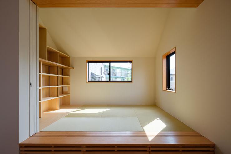 明大前の賃貸併用二世帯住宅 設計事務所アーキプレイス 多目的室家具 紙 ベージュ