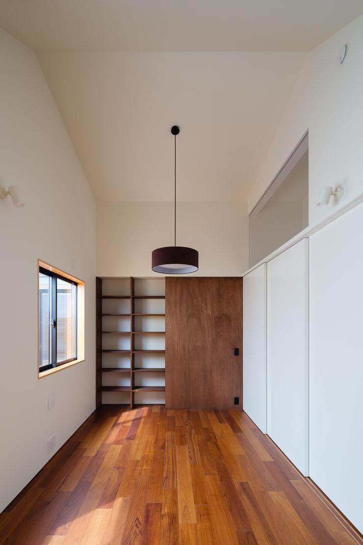 明大前の賃貸併用二世帯住宅 設計事務所アーキプレイス 子供部屋収納 合板(ベニヤ板) 木目調