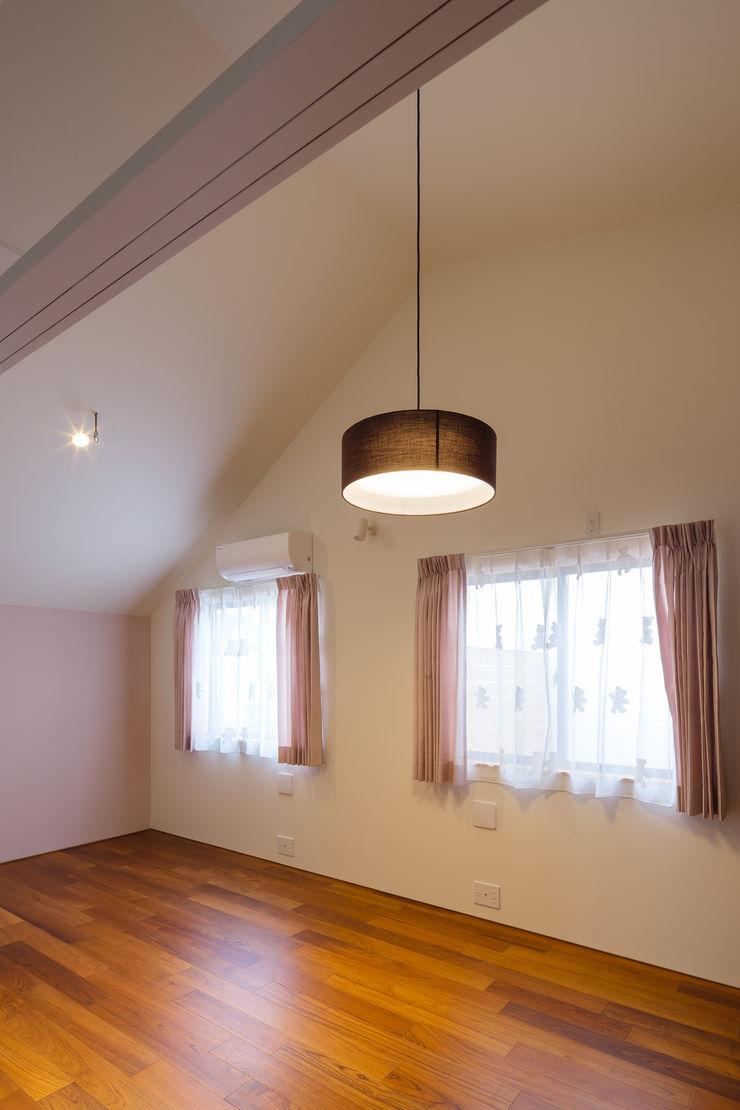 明大前の賃貸併用二世帯住宅 設計事務所アーキプレイス 女の子部屋 ピンク