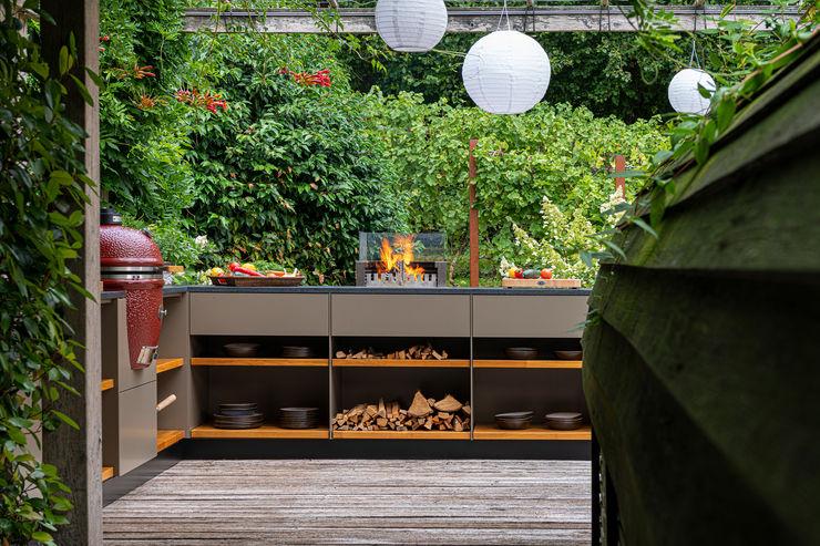 Mit ganz viel Liebe zum Detail. Freiluftküche   the real outdoor kitchen KücheSchränke und Regale