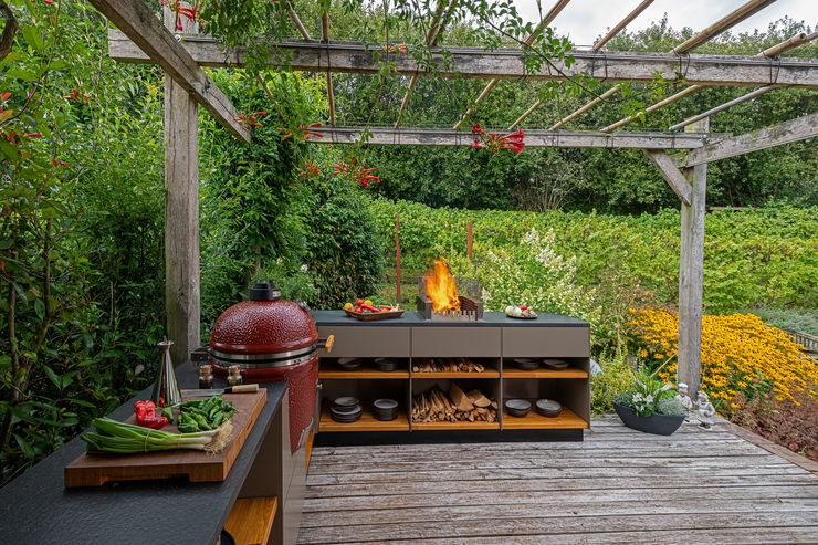 Leicht und beständig in überzeugender Optik. Freiluftküche   the real outdoor kitchen GartenMöbel