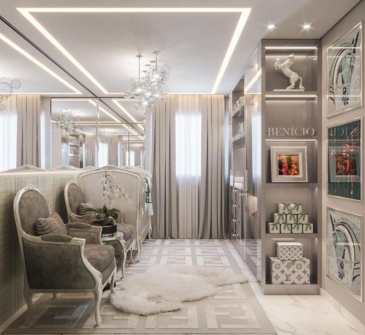 Camila Pimenta   Arquitetura + Interiores Baby room Wood Grey