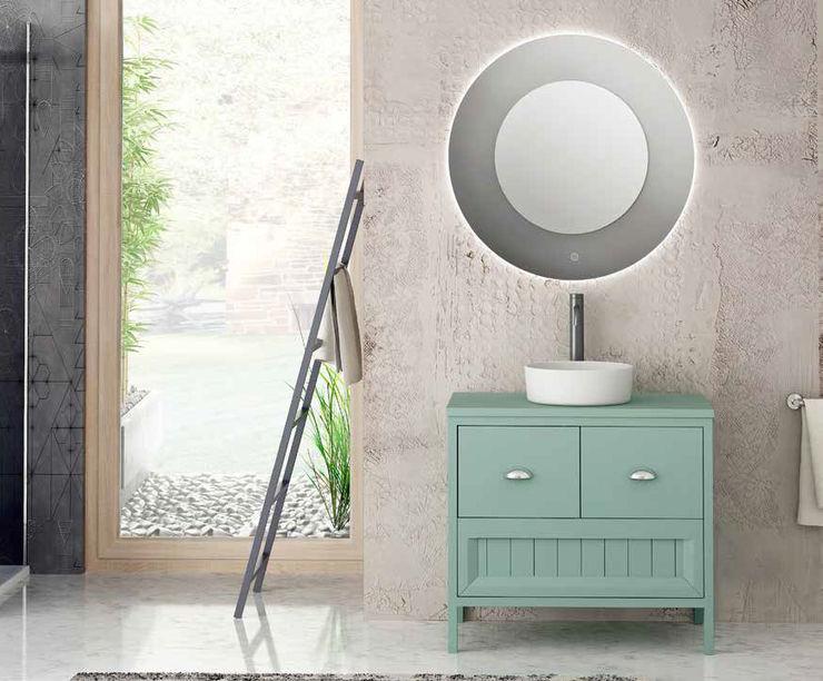 Movel 80 Verde Pedra Fator Banho Casa de banhoArmários Turquesa