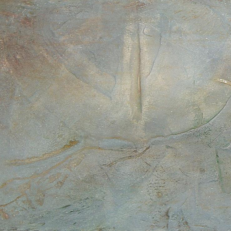 Akzentwandgestaltung im Naturkostladen Francoise Eichhorst Moderne Wände & Böden Kalkstein