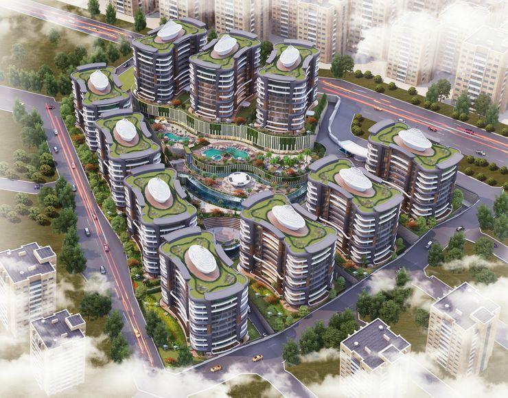 Zeray İnşaat A.Ş. Modern houses