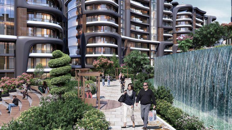 Zeray İnşaat A.Ş. Modern garden