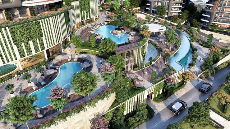 Zeray İnşaat A.Ş. Swimming pond