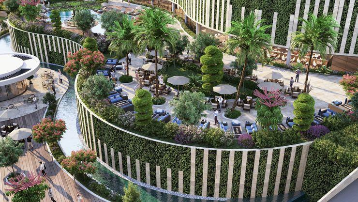 Zeray İnşaat A.Ş. Front garden