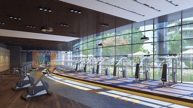 Zeray İnşaat A.Ş. Modern gym
