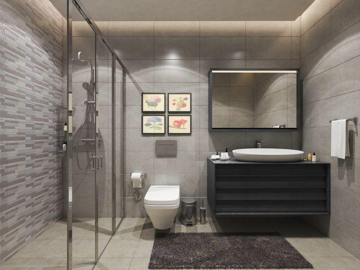 Zeray İnşaat A.Ş. Modern bathroom