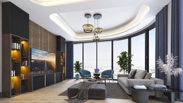 Zeray İnşaat A.Ş. Modern living room