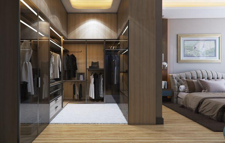 Zeray İnşaat A.Ş. Modern dressing room