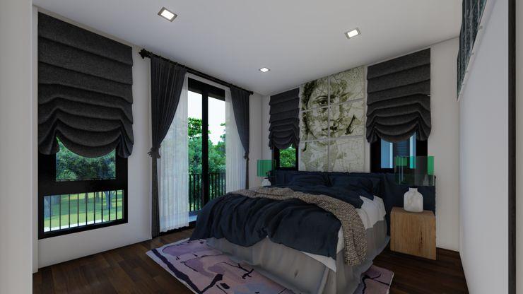 บ้านจัดสรร อุทัยธานี No.13 Design ห้องนอน