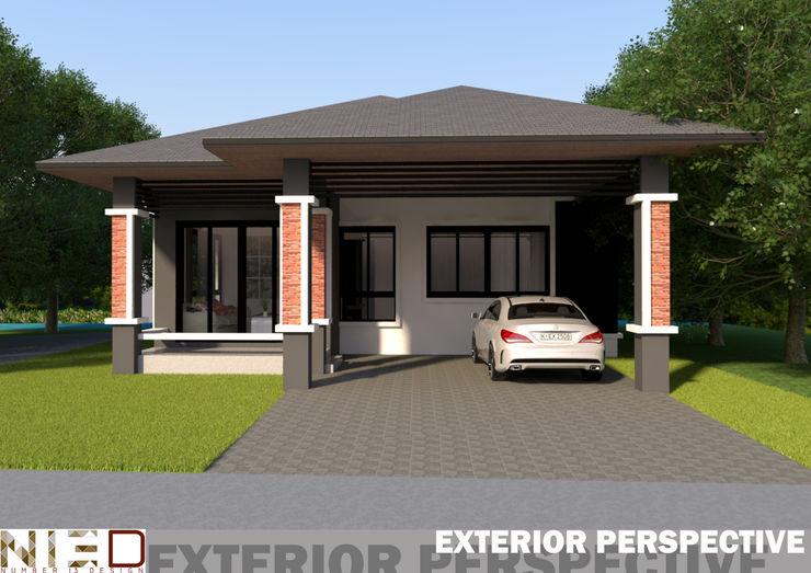 บ้านเดี่ยว พานทอง ชลบุรี No.13 Design บ้านและที่อยู่อาศัย