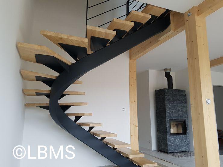 Escalier métallique débillardé LBMS. Fabrice Lamouille Escalier Métal