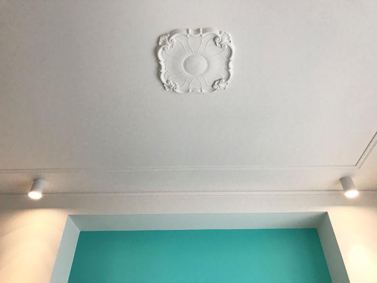 Dettaglio soffitto camera 01 Studio Zay Architecture & Design Camera da letto eclettica Turchese
