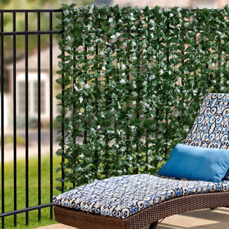 Artificial Ivy Garden Screening Sunwing Industries Ltd Bungalows Plastic Green