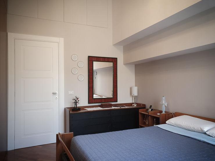Camera da letto arch. Lorenzo Criscitiello Camera da letto moderna